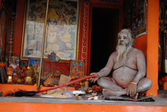 Sadhu in Hinduism Royalty Free Stock Photos