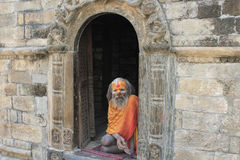 Sadhu (holy man) Royalty Free Stock Photography