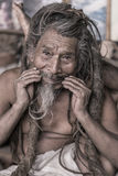 Sadhu - holy man Royalty Free Stock Photos