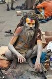 Sadhu (holy man) from India Royalty Free Stock Image