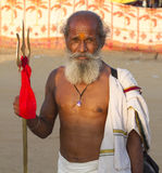 Sadhu, Holy man Stock Photo