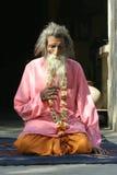 Sadhu, Holy man Stock Image
