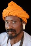 Sadhu (holy man)  in Varanasi, India Royalty Free Stock Images