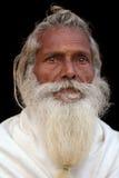 Sadhu (holy man) in Varanasi, India Royalty Free Stock Photography