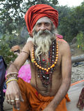 Sadhu, Holy man Stock Photos