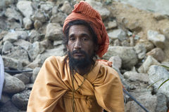 Sadhu, Holy man Royalty Free Stock Images