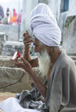 Sadhu, Holy man Stock Image