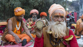 Sadhu, Holy man Stock Images