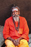 Sadhu - holy men Stock Photography