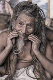 Sadhu - hombre santo Fotos de archivo libres de regalías