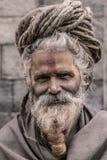 Sadhu - hombre santo Imágenes de archivo libres de regalías