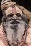 Sadhu - hombre santo Imagen de archivo libre de regalías