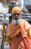 Sadhu (homem santamente) fotografia de stock