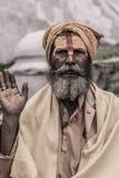 Sadhu - homme saint Image stock