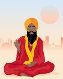 Sadhu indiano Illustrazione Vettoriale