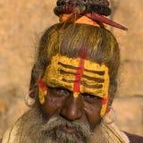 Sadhu indiano immagini stock libere da diritti