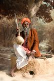 Sadhu indien photo stock