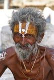 Sadhu in Indien Lizenzfreie Stockbilder