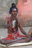 Sadhu indio Fotos de archivo libres de regalías