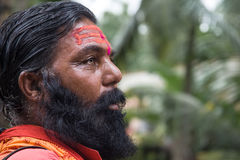 Sadhu indio imagenes de archivo