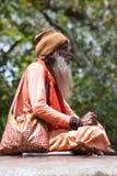 Sadhu indio Imágenes de archivo libres de regalías