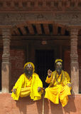 sadhu kathmandu Непала Стоковое Фото
