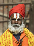 Sadhu - Kathmandu - Nepal Royalty Free Stock Photos
