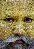 Sadhu Monk enojado imagenes de archivo
