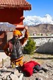 Sadhu népalais Image libre de droits