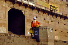 Sadhu na Índia foto de stock royalty free