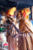 Sadhu, Nepal Stock Photo