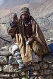 Sadhu pilgrim royalty free stock photo