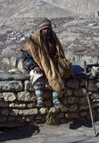Sadhu pilgrim in Muktinath, Nepal Stock Images