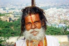 A sadhu portrait Stock Photography