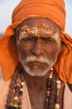 Sadhu in Rajasthan, India - November 2011 Stock Foto
