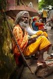 Sadhu in Rishikesh Royalty Free Stock Photo