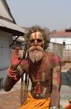 sadhu shaiva Obraz Royalty Free
