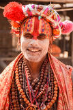 Sadhu, Shivaratri, Pashupatinath Photo stock