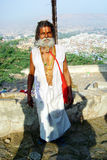 Sadhu stående Fotografering för Bildbyråer