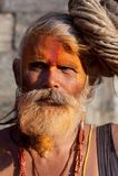 Sadhu (uomo santo) dal Nepal Immagine Stock Libera da Diritti