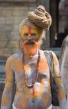 Sadhu van Shaiva (heilige mens) Stock Foto's