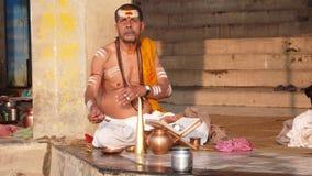 Sadhu. Varanasi. India Royalty Free Stock Image