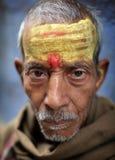 Sadhu (holy man) in Varanasi, India. Stock Images