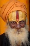 Sadhu (holy man) in Varanasi, India. Stock Image