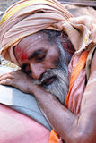 Sadhus, Holy Men of India Stock Image