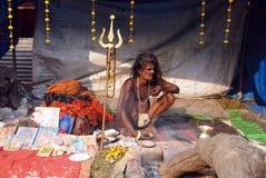 Sadhus, hombres santos de la India Imagen de archivo