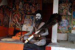 Sadhus of India Stock Photography