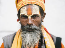Sadhus Royalty Free Stock Photo