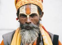 Sadhus royalty free stock photo