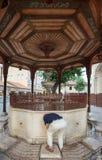 Sadirvan (ablutions fountain) Stock Photography